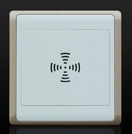 声控开关是声控延时开关,开关内置是没有触点的,在特定的情况下